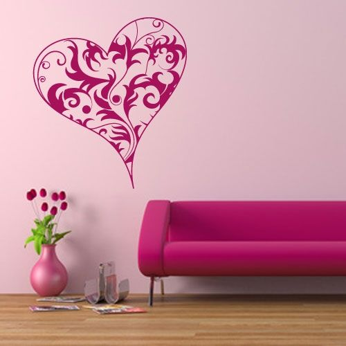 wandtattoo schn rkel herz crazy art connection. Black Bedroom Furniture Sets. Home Design Ideas